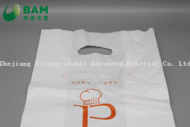 Sustainable Disposable Plastic Packaging Carrier Biodegradable Recycled Eco-Friendly Supermarket Shopping Fashion Vegetables Fruit T-Shirt Color Handle Bag