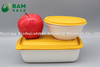 Food Grade Fully 100% Biodegradable Compostable Sugarcane Plant Fiber Takeaway Food Containers for Camping